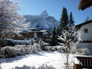 View from the house to Sonnenspitze